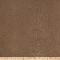 Fabricut Canberra Faux Leather Tobacco Fabric