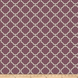 Fabricut Chance Jacquard Grape Fabric