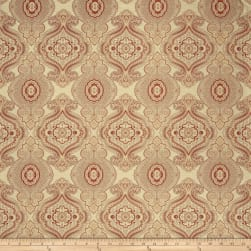 Fabricut Chandon Jacquard Rouge