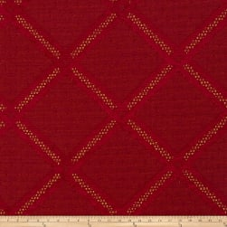 Fabricut Clarion Chenille Ruby Sparkle