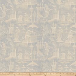 Fabricut Cuthbert Toile Silk Porcelain Fabric