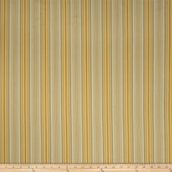 Fabricut Demi Stripe Jacquard Honey Gold Fabric