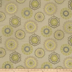 Fabricut Easy Rider Graphic Lime Fabric