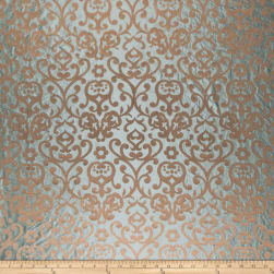 Fabricut Emeril Silk Seagreen Fabric