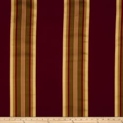 Fabricut Evening Shade Faux Silk Crimson Fabric