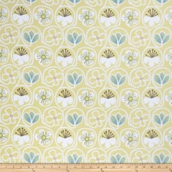 Fabricut Flower Power Citron Fabric