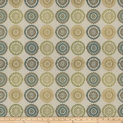 Fabricut Flowersong Jacquard Lime Fabric