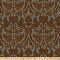 Fabricut Fontodi Faux Silk Ginger Fabric