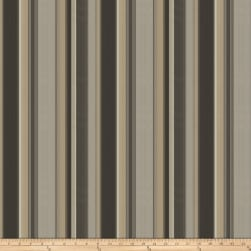 Fabricut Foster Stripe Silk Pewter Fabric