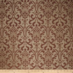 Fabricut Fresca Faux Silk Raisin Fabric