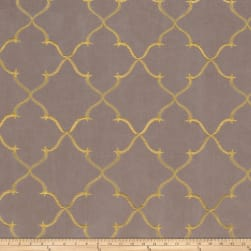 Fabricut Gladys Lattice Taffeta Shadow Fabric