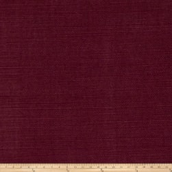 Fabricut Glossed Linen Blend Plum Fabric