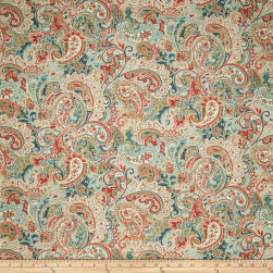 Fabricut Goodbye Girl Coral Fabric