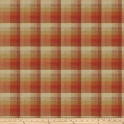 Fabricut Hayes Plaid Jacquard Citrus Fabric