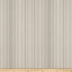 Fabricut Hepburn Stripe Silk Smoke Fabric