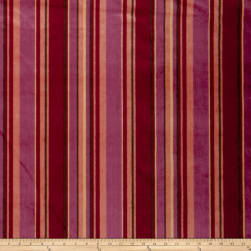 Fabricut Highline Velvet Tango Red Fabric