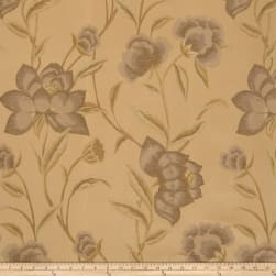 Fabricut Hillier Floral Tortoise Shell Fabric