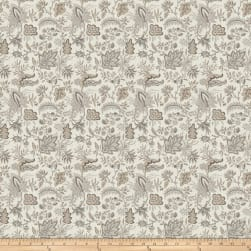 French General Josephine Linen Blend Dove Fabric