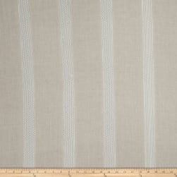 Fabricut Kenzo Lace Stripe Linen Blend Natural