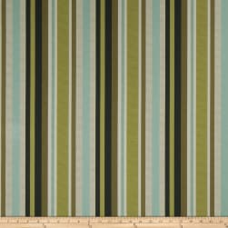 Fabricut Kia Stripe Faux Silk Ocean Floor Fabric