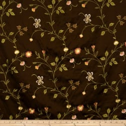 Fabricut Kiani Chocolate Sunrise Fabric