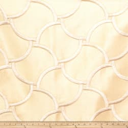 Fabricut Knightly Silk Pearl