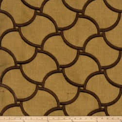 Fabricut Knightly Silk Bronzed