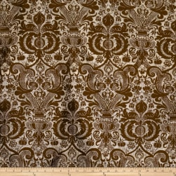 Fabricut Locklear Silk Bronze Fabric