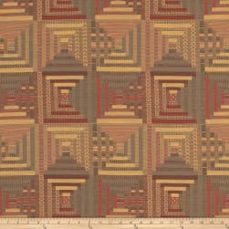 Mount Vernon Log Cabin Quilt Mansion Fabric