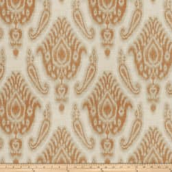 Fabricut Love Me Ikat Pumpkin Fabric