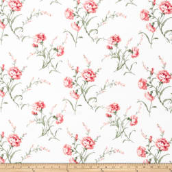 Charlotte Moss Lucie Carnation Fabric