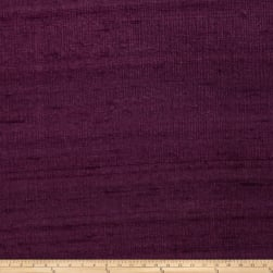 Fabricut Luxury Dupioni Silk Purple Heart Fabric