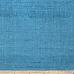 Fabricut Luxury Dupioni Silk Teal Fabric