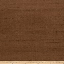 Fabricut Luxury Dupioni Silk Cocoa Fabric