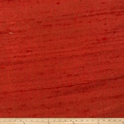 Fabricut Luxury Dupioni Silk Redwood Fabric