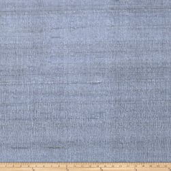 Fabricut Luxury Dupioni Silk Blue Smoke Fabric