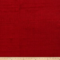 Fabricut Luxury Dupioni Silk Ruby Fabric