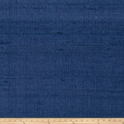 Fabricut Luxury Dupioni Silk Denim Fabric