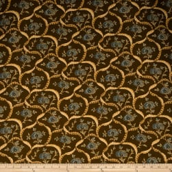 Fabricut Machen Chocolate Fabric