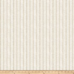 Fabricut Marcus Stripe Linen Blend Pewter Fabric