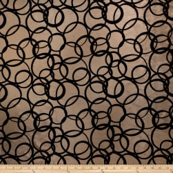 Fabricut Marfark Taffeta Chocolate Fabric