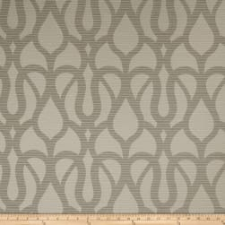 Fabricut Marisol Scroll Faux Silk Quarry Fabric