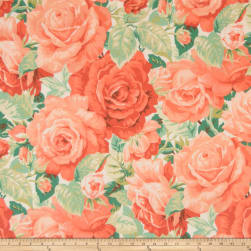 Mount Vernon Martha's Rose Garden Fabric