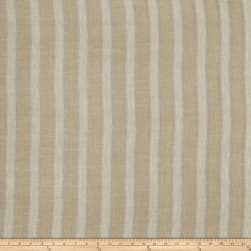 Fabricut Mcneeley Stripe Linen Blend Gold