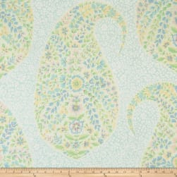 Collier Campbell Mosaic Paisley Porcelain Fabric