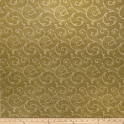 Fabricut Crypton Mosaic Scroll Kiwi