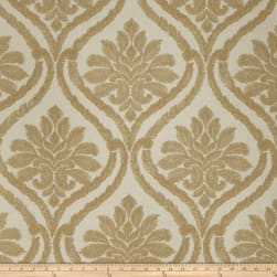 Fabricut Nilton Damask Faux Silk Bronze Fabric