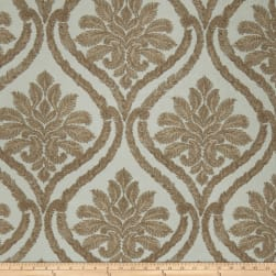 Fabricut Nilton Damask Faux Silk Spa Fabric