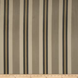 Fabricut Nya Stripe Jacquard Nickel Fabric