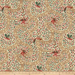 Fabricut Peking Cranberry Fabric